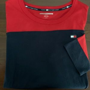 TOMMY HILFIGER WOMEN'S ELBOW SLEEVE LENGTH TOP